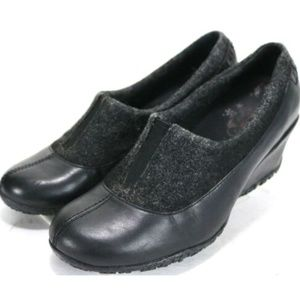 Merrell Women's Clogs Wedge Shoes Size 8 Black